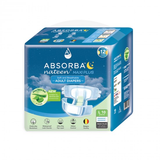 Absorba Maxi Plus Adult Diaper