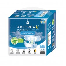 Absorba Nateen Maxi Plus Adult Diaper (10pcs/bag)