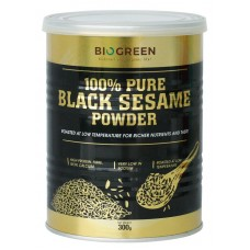 BioGreen 100% Pure Black Sesame Powder - 300g