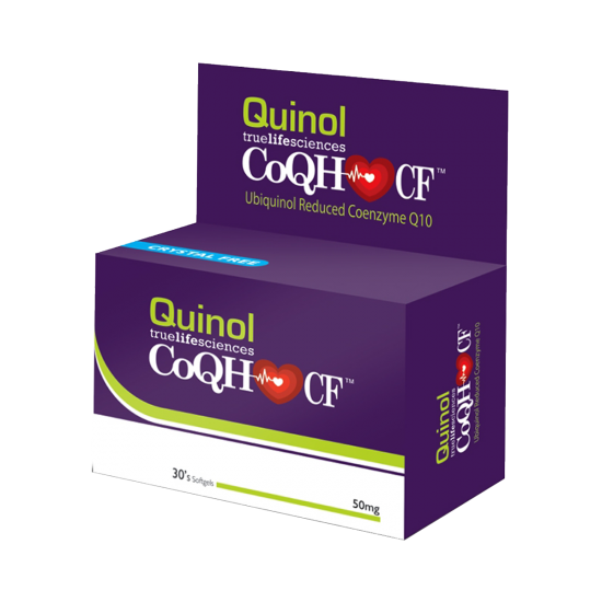 Quinol CoQH-CF (Ubiquinol Reduced Coenzyme Q10), 50mg, 30's
