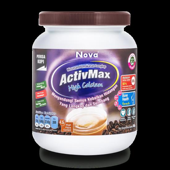 Nova ActivMax High Calcium Coffee Flavour 900g