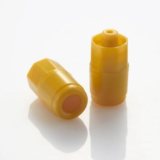 Adventa Health - Yellow instopper (heparin cap), 100pcs/box